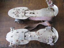Vintage Union Hardware #5 Metal Roller Skates