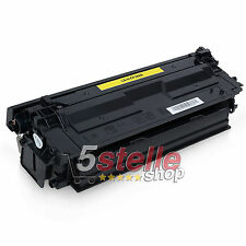 TONER GIALLO PER HP COLOR LASERJET ENTERPRISE M552DN M553N CF362A 508A REMAN