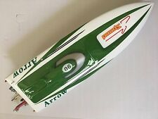 E36 Electric Power RC Fiber Glass Brushless Speed Racing Boat PNP Model Green