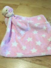 Mothercare Rosa con le stelle della buonanotte orso morbido peluche giocattolo Teddy Trapunta Coperta 3