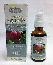 NatureSun Aroms - Huile Végétale Noyau d'abricot Bio - 50 ml