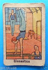 figurines cromos figurine sportive anni 30 40 v.a.v. vav ginnastica artistica ss