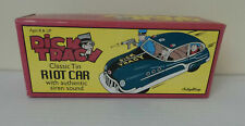 Schylling Dick Tracy Classic Tin Riot Car with Authentic Siren Sound  *NIB*