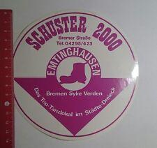Aufkleber/Sticker: Schuster 2000 Emtinghausen (13111612)