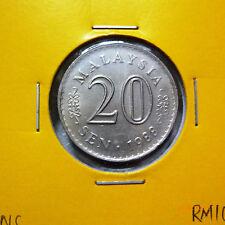 Malaysia 20 Sen 1988 - UNC