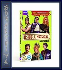 HORRIBLE HISTORIES-  COMPLETE SERIES 4  **BRAND NEW DVD **