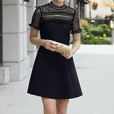 ZARA Lace Guipure Dress Size M New with Tags Self Portrait Style ASO Riverdale