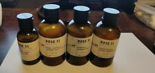 LOT OF (X4) LE LABO Rose 31 Shampoo Conditioner Body Lotion Gel 3 fl oz 90ml