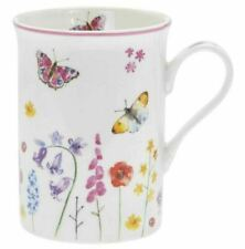 Butterfly Garden Fine China mug Gift Boxed Butterflies free postage