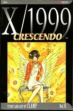 X/1999 Vol8: Cresendo. Apocalyptic Manga by CLAMP. New!