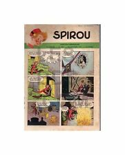 SPIROU  N°   666  18/01/1951  (Auto : la Jaguar) BE