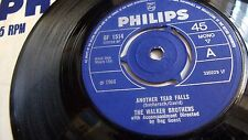 THE WALKER BROTHERS ANOTHER TEAR FALLS/ SADDEST NIGHT IN THE WORLD PHILIPS 1966