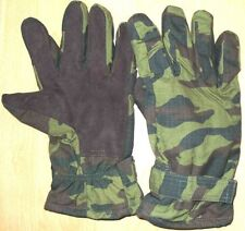 Russian Army Winter Gloves FLORA camo Rip-stop insulated Leather patch UNIFORM