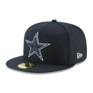 Dallas Cowboys Dal NFL Authentic New Era 59FIFTY Fitted Cap - 5950 Hat