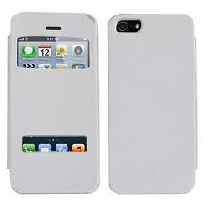 Accessoire Housse Etui Coque Plastique View Case pour Apple iPhone 5/ 5S