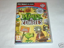 PC MAC game PIANTE VS ZOMBIE Game Of The Year Edition BRAND NEW FACTORY SEALED