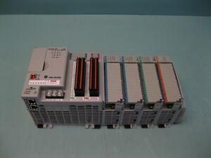 Allen-Bradley CompactLogix 1769-L24ER-QBFC1B Controller w/ Modules A3 (2938)