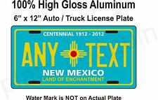 New Mexico License Plate, State Plate, custom, Any text, Auto Tags, personalized