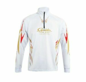 Gamakatsu Mens Fishing Fishing Jersey Shirt Clothes Long Sleeve Breathable UV