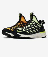 Nike ACG React Terra Gobe Volt Black Uk 8 Eu 42.5 Walking Run Trail Gym 3M 💦Rep