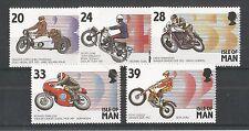 I.O.M 1993 MANX MOTOR CYCLE EVENTS SG,567-571 UM/M N/H LOT R88