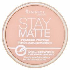 Rimmel Stay Matte Long Lasting Pressed Powder 005 Silky Beige 14g