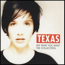 TEXAS - SAY WHAT YOU WANT : THE COLLECTION CD ~ 90's GREATEST HITS/BEST OF *NEW*