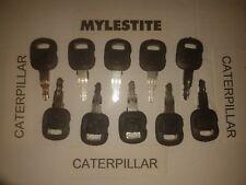 (10) CAT Caterpillar Heavy Equipment Ignition Key 5P8500  INTERNATIONAL SHIPPING