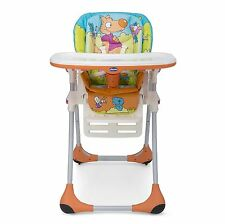 Chicco 6079065330000 Seggiolone New Polly 2 In 1 Wood Friends