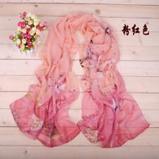 FASHION Women Long Birds Cotton Scarf Wrap Ladies Shawl Girls Large SILK Scarves