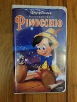 Pinocchio Walt Disney's Masterpiece 1993 VHS Video