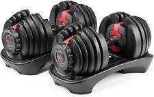 *OVER NIGHT SHIPPING* Bowflex SelectTech 552 V2 Adjustable Dumbbells (Pair)
