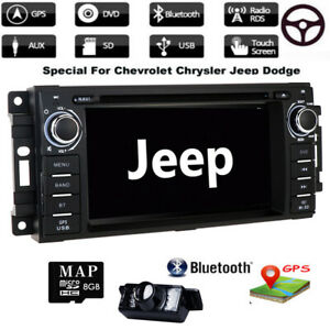 """Für JEEP Grand Cherokee Jouruney 6.2"""" Autoradio GPS USB Navi Rückfahrkamera+ EU"""