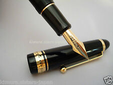 Pilot Namiki Custom 743 Fountain Pen Black FA nib Falcon FKK-3000R-B-FA