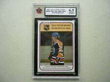 1981/82 O-PEE-CHEE NHL HOCKEY CARD #392 WAYNE GRETZKY RB KSA 6.5 EXNM+ 81/82 OPC