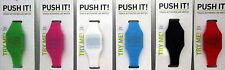 TOUCH ACTIVATED 3 FUNCTION LED DIGITAL WATCH ASSORTED COLOURS EASY TO READ BNIP