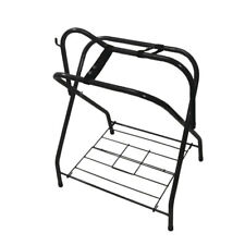 Foldable Saddle Rack Horse Bridle Stand