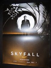 james bond 007 SKYFALL daniel craig  affiches cinema rare preventive