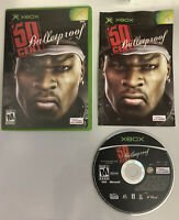 50 Cent: Bulletproof Original Xbox Game Complete Free Ship USA