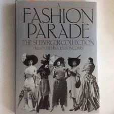A Fashion Parade: The Seeberger Collection,  Dars (HC 1979) 1st Ed Fashion Paris