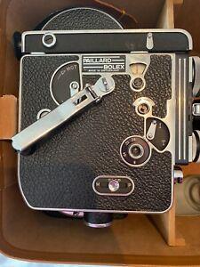 Vintage H16 Bolex Reflex Camera. Gossen Luna-pro Electronic System Exposure Mtr.