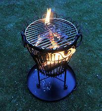 Garden Log Burner or Brazier / Outdoor Barbecue - Patio or Garden