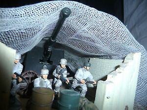 A4 SIZE PIECE OF WINTER CAMOUFLAGE NETTING FOR MODEL SCENES & DIORAMAS SEE PICS