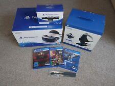 MEGASET in OVP Playstation 4 & 5 VR Brille + Kamera + 3 Spiele + PS5 Adapter