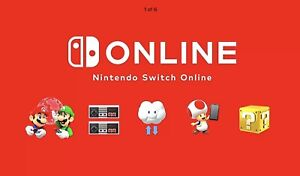 Nintendo Switch Online Membership 12 Months (EXP: 5 May 2022)