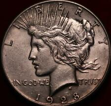 1928  Philadelphia Mint Silver Peace Dollar