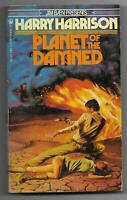 Planet of the Damned by Harry Harrison (1981 Pinnacle / TOR pb, Tom Kidd cover)