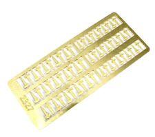 "HO Scale ""T"" Hinges - Photo Etch - Showcase Miniatures (2327)"