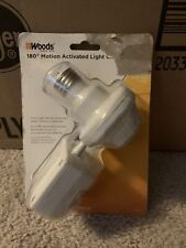 Outdoor Light Socket, Motion Activated