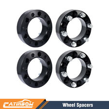 "4pcs 2"" Black Wheel Spacers Adapter 6x5.5 For Chevy Silverado1500 Tahoe Suburban"
